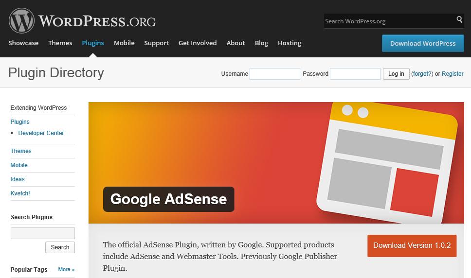 Google公式のWordPress用AdSenseプラグイン(Google AdSense)